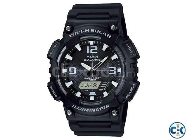 WW0440 Original Casio Tough Solar Dual Time Watch AQ-S810W-1 | ClickBD large image 0