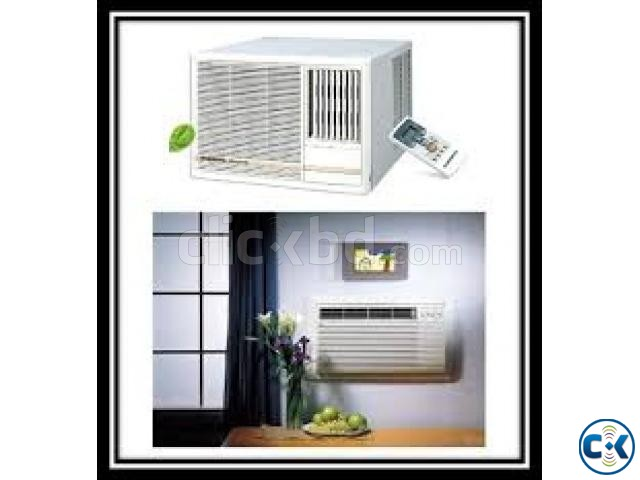 1.5 Ton Window Type AC O GENERAL 18000 BTU | ClickBD large image 0