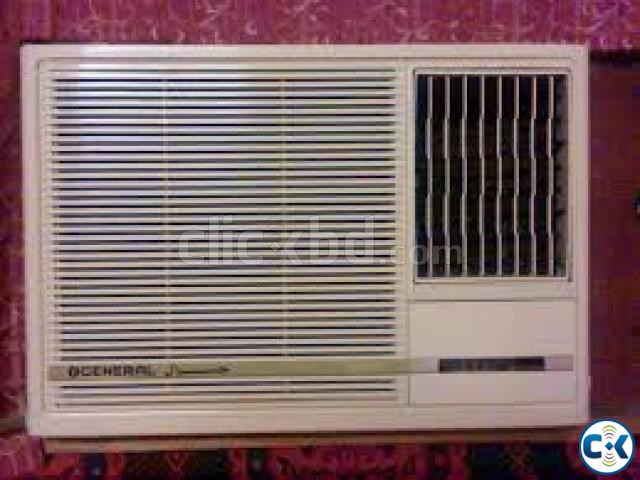 1.5 Ton Window Type AC O GENERAL 18000 BTU | ClickBD large image 1