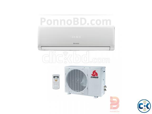 Chigo 1 Ton 220V 12000 BTU Split Air Conditioner - White | ClickBD large image 0