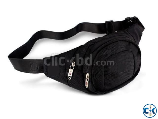 Travel Fashion Check Waist Bag Sports Mobile Bicycling | ClickBD large image 3