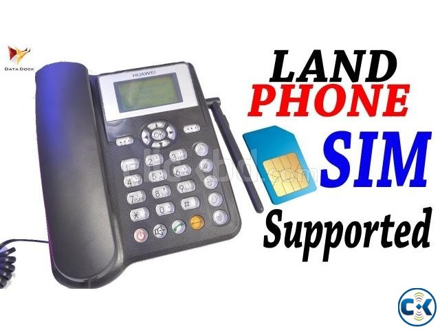 Huawei GSM Land line phone intact Box | ClickBD large image 0
