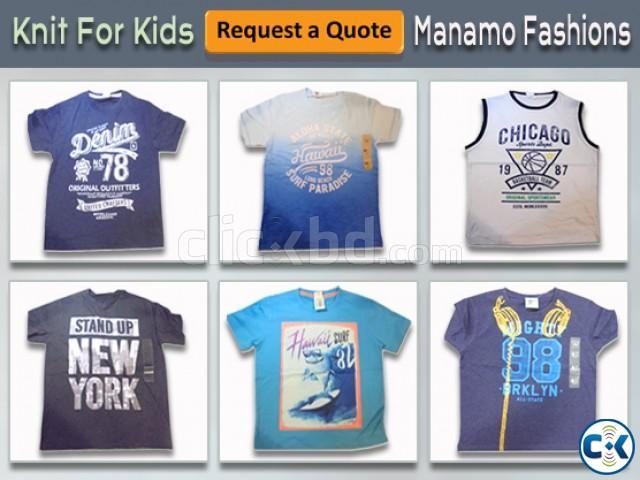 Request a Quote Knit For Kids Kids T Shirt  | ClickBD large image 0