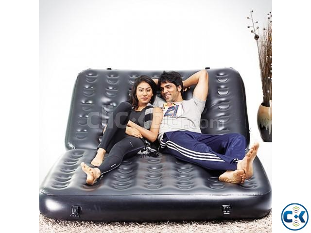 Air sofa cum Bed 5 in 1 Air-O-Space | ClickBD large image 0