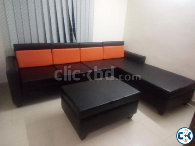 Bangladeshi Design Sofa | ClickBD large image 0
