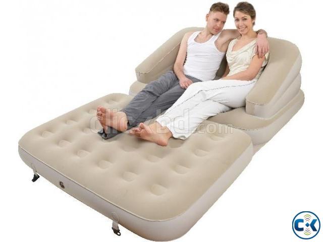 Air Sofa cum Bed jilong 5 in 1 | ClickBD large image 0