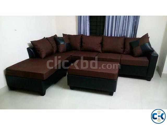 Bangladeshi Design Sofa Set | ClickBD large image 1