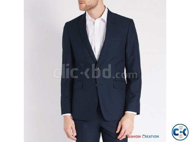 Marks Spencer Mens Collection Navy Slim Fit Blazer | ClickBD large image 0