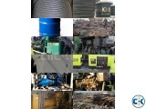 Used Generator Boiler Air Compressor Main Engine Supplier