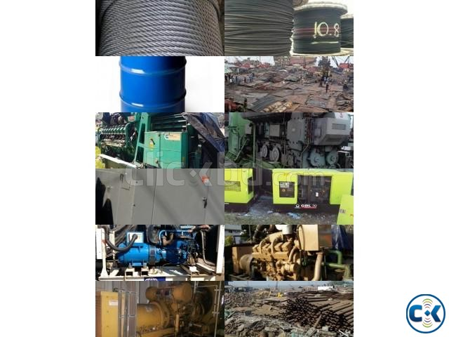 Used Generator Boiler Air Compressor Main Engine Supplier | ClickBD large image 0