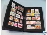 Postage Stamp Album-
