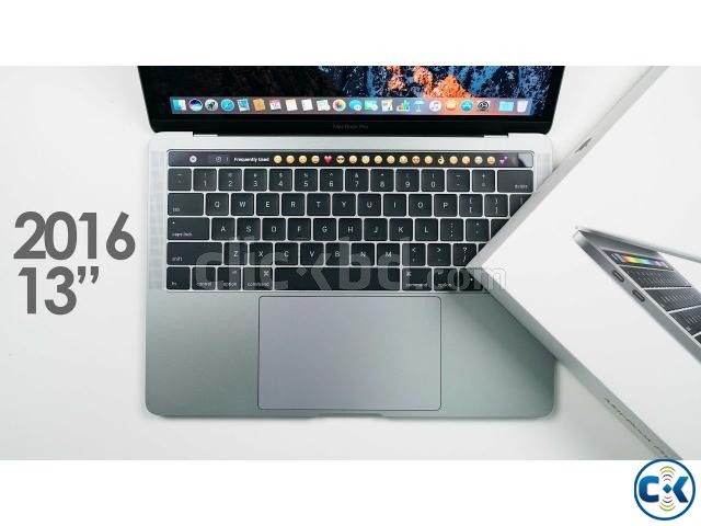 Apple MacBook Pro A1706 13.3 256GB Touch Bar NEW | ClickBD large image 0