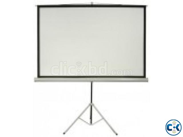 TRIPOD PROJECTOR SCREEN 60 X60  | ClickBD large image 0