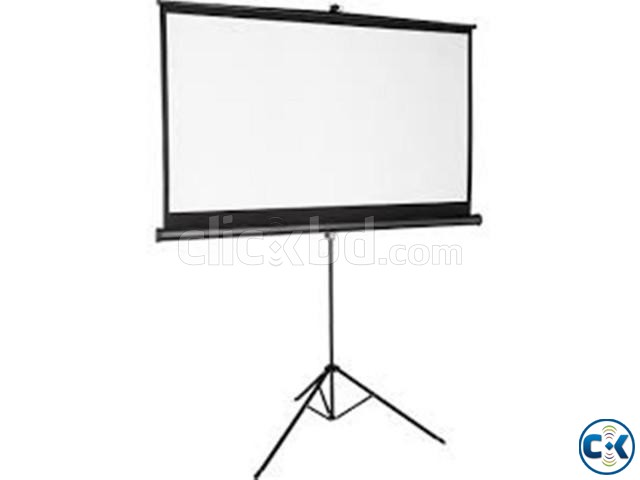 TRIPOD PROJECTOR SCREEN 84 X84  | ClickBD large image 0