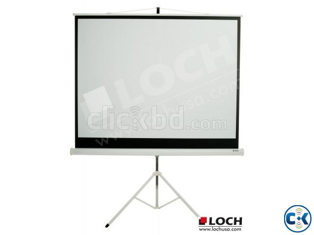 TRIPOD PROJECTOR SCREEN 96 X96  | ClickBD large image 0