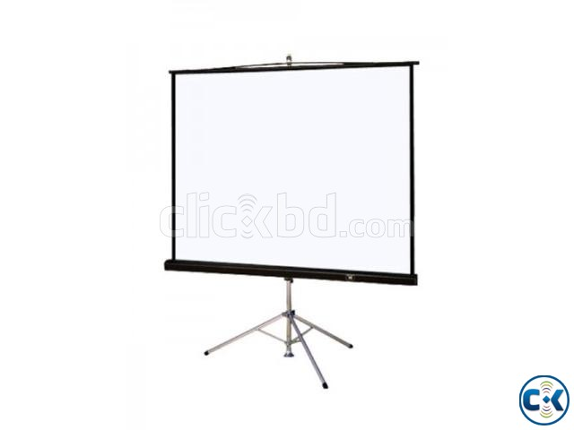 TRIPOD PROJECTOR SCREEN 96 X96  | ClickBD large image 3