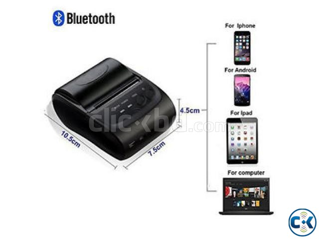 Bluetooth pos printer | ClickBD large image 0