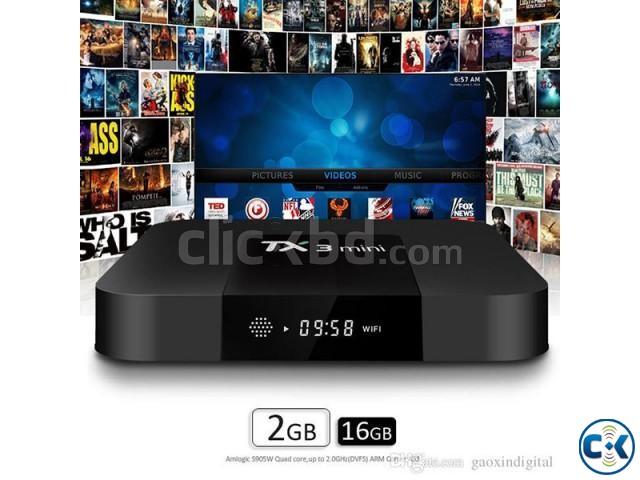 Tanix TX3 2G 16G Android 7.1 Mini TV Box | ClickBD large image 0
