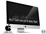 iMac 27 Graphic video card No display Repair