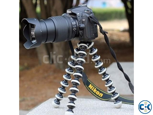 Flexible Octopus Tripod for Camera Mobile | ClickBD large image 3