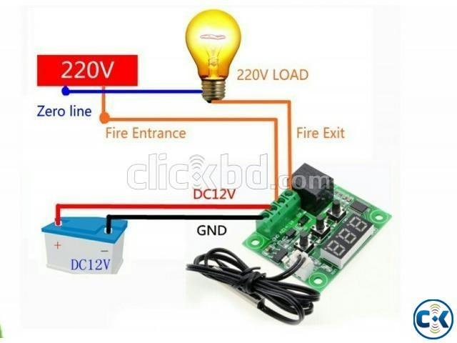 W1209 Incubator Temperature Controller | ClickBD large image 0