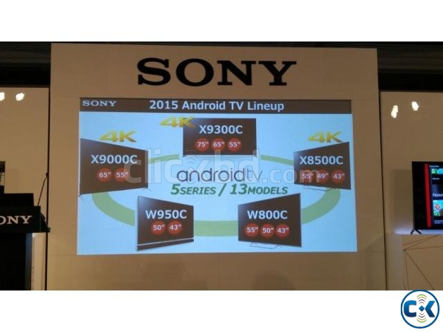55 Sony Bravia 3D W800C Android LED TV | ClickBD large image 1