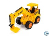Baku Remote Controlled Wheel Excavator - Yellow
