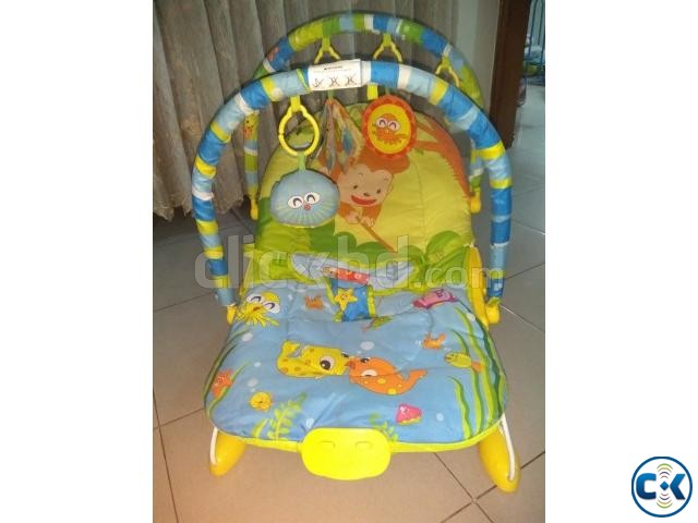 Cradling Bouncer for Babies | ClickBD large image 2