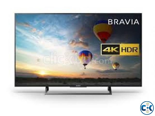 43 Sony Bravia X7000E Wi-Fi Smart Slim 4K HDR LED TV | ClickBD large image 0