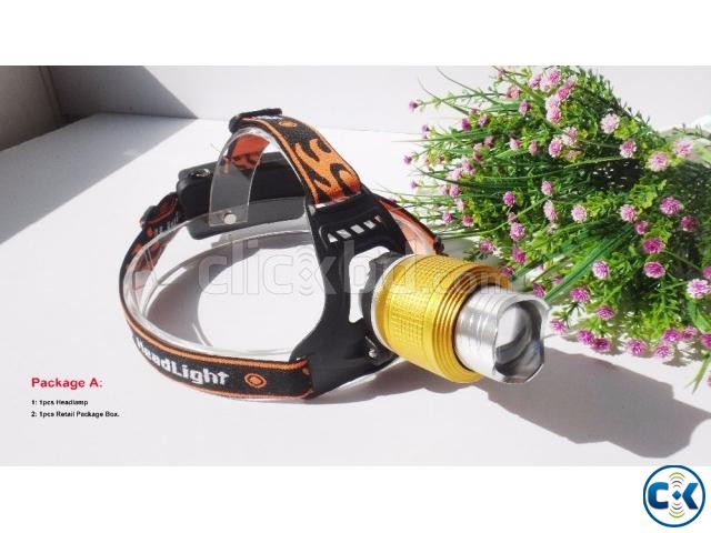 Ubitree 2000 Lumens Head Touch Light | ClickBD large image 2