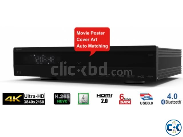 Egreat A10 Blu-ray HDD Media Player 4K with Wi-Fi | ClickBD large image 0
