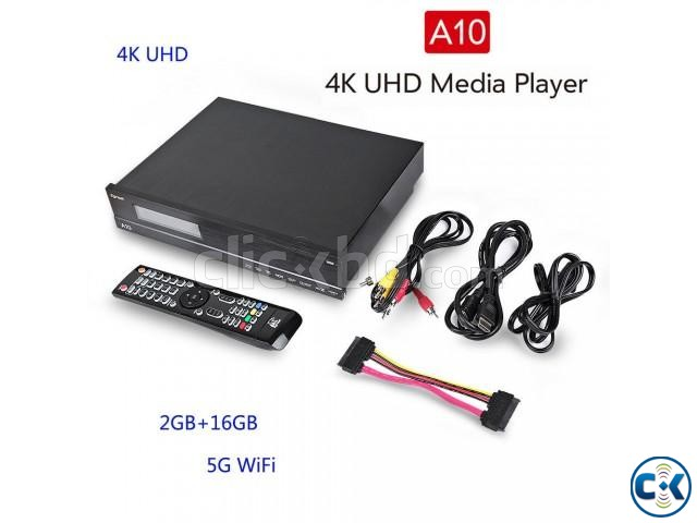 Egreat A10 Blu-ray HDD Media Player 4K with Wi-Fi | ClickBD large image 2