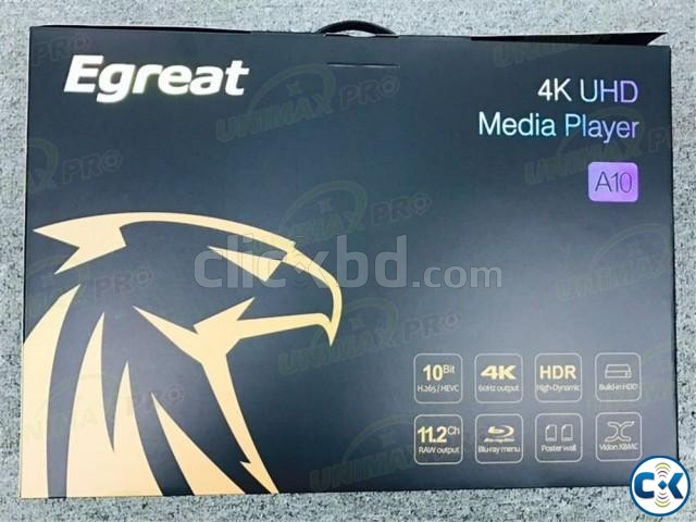 Egreat A10 Blu-ray HDD Media Player 4K with Wi-Fi | ClickBD large image 3