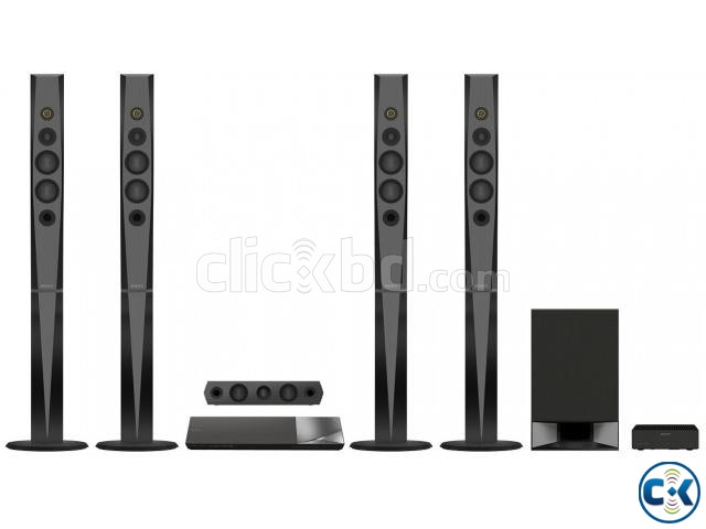 Sony BDV-N9200W 3D blu-ray disc black home theater system | ClickBD large image 0