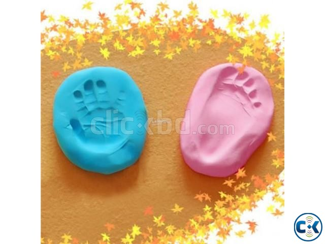 Baby Care Soft Clay Handprint Footprint Memorial Gift | ClickBD large image 0
