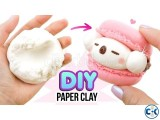 PaperClay 4Color Educational Soft clay Kids Toys Creative