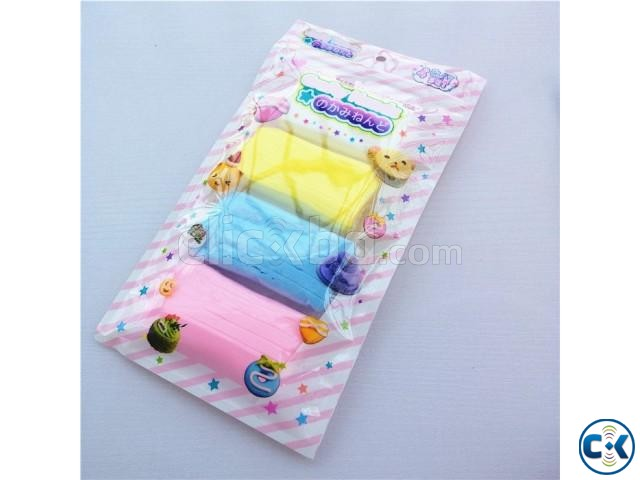 PaperClay 4Color Educational Soft clay Kids Toys Creative | ClickBD large image 1