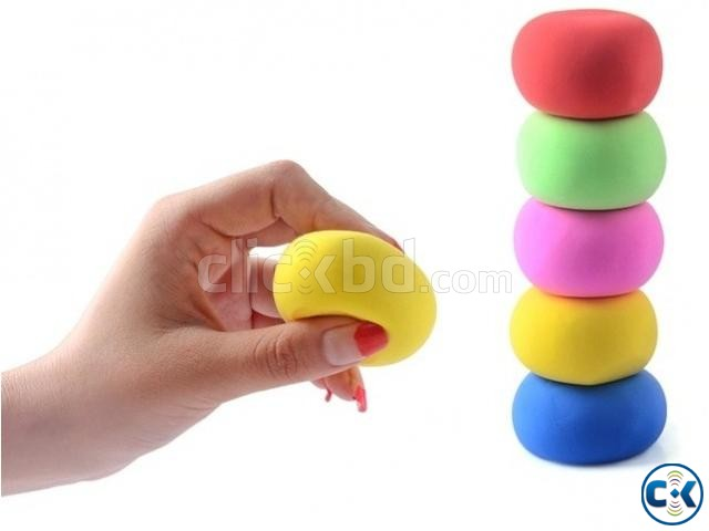 PaperClay 4Color Educational Soft clay Kids Toys Creative | ClickBD large image 2