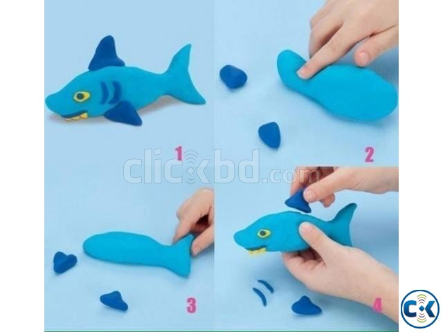 PaperClay 4Color Educational Soft clay Kids Toys Creative | ClickBD large image 4
