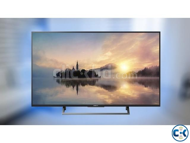 Sony Bravia X7500E 4K UHD 43 High Dynamic Android LED TV | ClickBD large image 1