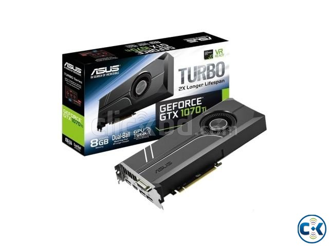 ASUS Turbo GeForce GTX 1070Ti GDDR5 8GB Graphics Card | ClickBD large image 0