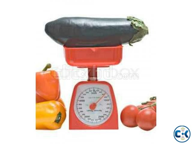 Kitchen Analog Scale with Bowl-  | ClickBD large image 2
