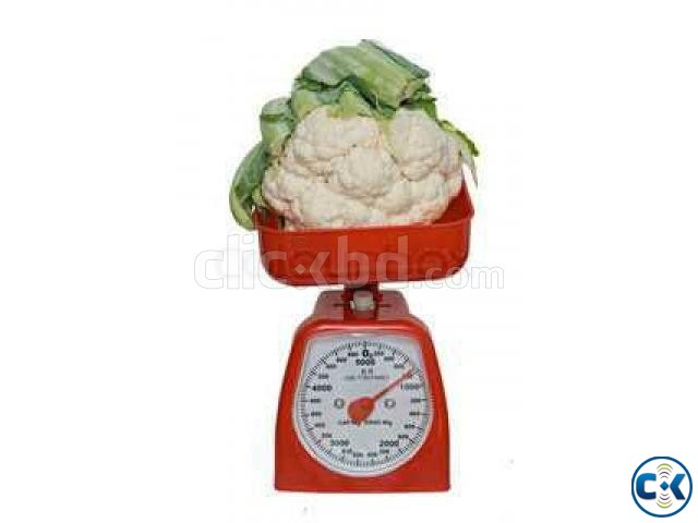 Kitchen Analog Scale with Bowl-  | ClickBD large image 3