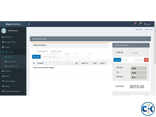 POS and Inventory Management Software | ClickBD large image 4
