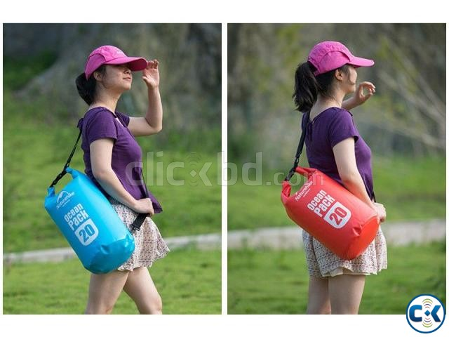 15L Ultra-Portable waterproof travel Dry Water bags | ClickBD large image 0