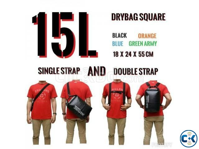 15L Ultra-Portable waterproof travel Dry Water bags | ClickBD large image 3