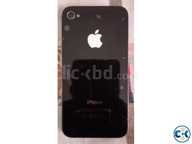 Used iPhone 4s original balck  | ClickBD large image 0