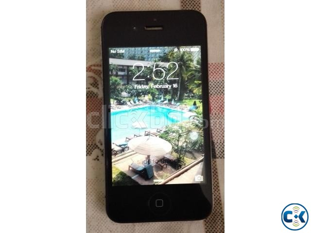 Used iPhone 4s original balck  | ClickBD large image 1