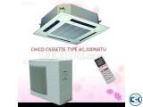 CHIGO 5 ton ceilling & cassette type ac 60000 BTU Original C