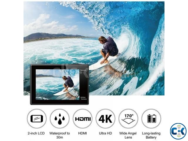 EKEN H8R 4K Action Camera with Remote | ClickBD large image 3
